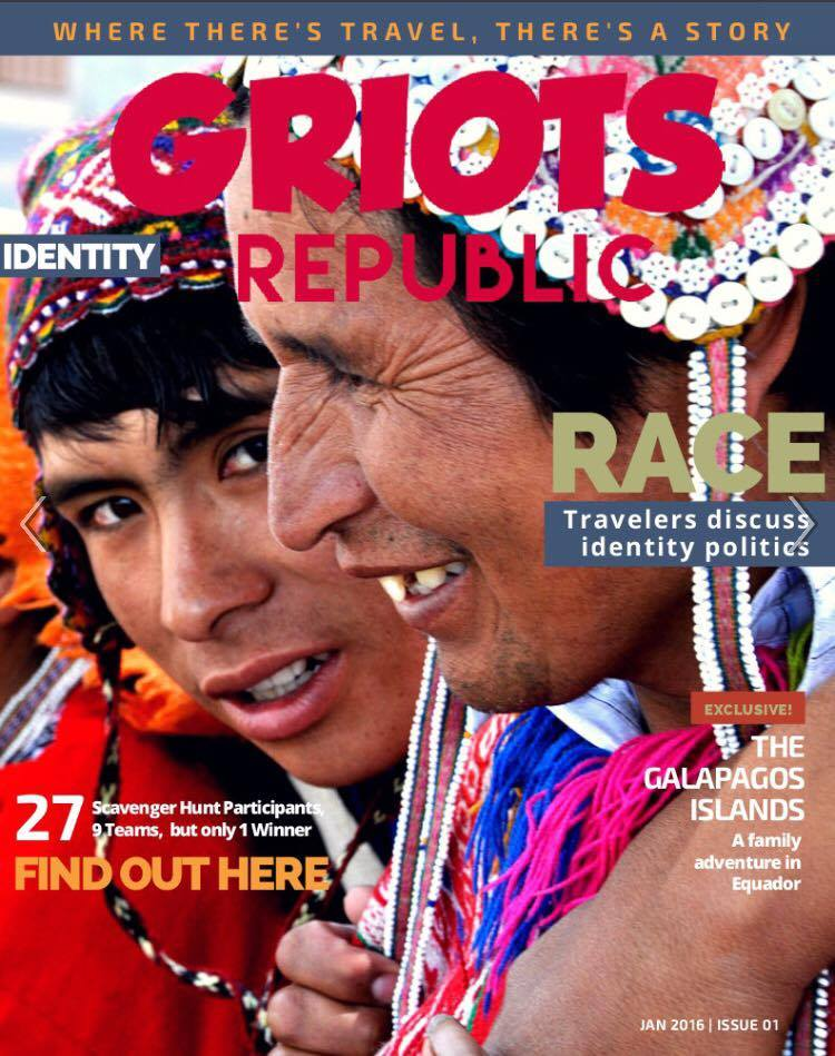 Griots Republic - Issue 1 Identity